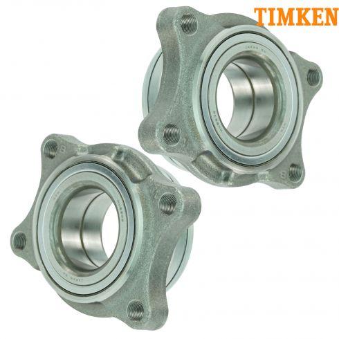 04-06 Infiniti G35X w/AWD Front Wheel Bearing Module PAIR (Timken)