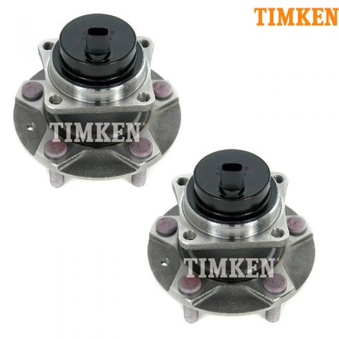 04-08 Mazda RX-8; 09-11 RX-8 (w/o DSC) Front Wheel Bearing & Hub Assy PAIR (Timken)