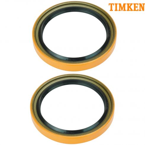 96-99 SLX; 94-01 Passport; 88-02 Isuzu Multifit Front Inner Wheel Bearing Seal PAIR (Timken)