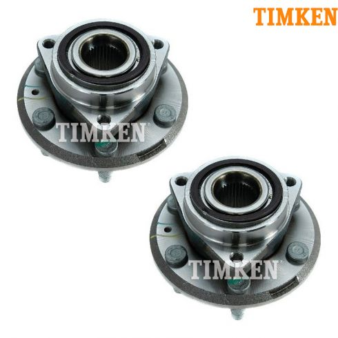 07-13 Acadia; 08-14 Enclave; 07-10 Outlook; 09-12 Traverse Rear Wheel Hub & Bearing PAIR (Timken)