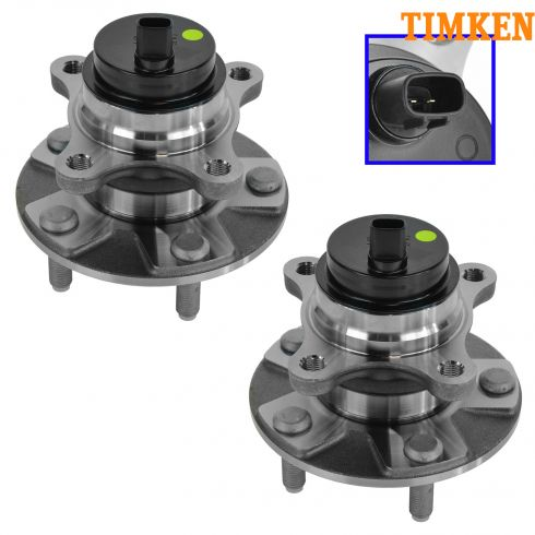 06-11 Lexus GS Series RWD; 06-14 IS Series Sedan (w/RWD & Conv) Frt Whl Bring & Hub Pair (Timken)