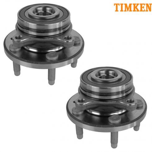 09-14 Ford Flex, Lincoln MKS; 10-14 MKT, Taurus Front Wheel Hub & Bearing PAIR (Timken)