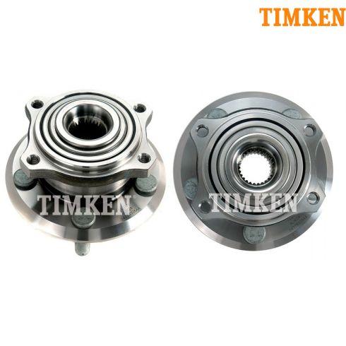 05-10 300; 08-11 Challenger; 06-09 Charger; 05-08 Magnum Rear Wheel Bearng & Hub LR = RR (Timken)