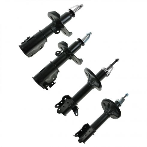 00-03 Mazda Protege; 02-03 Protege5 Front & Rear Strut (Set of 4)