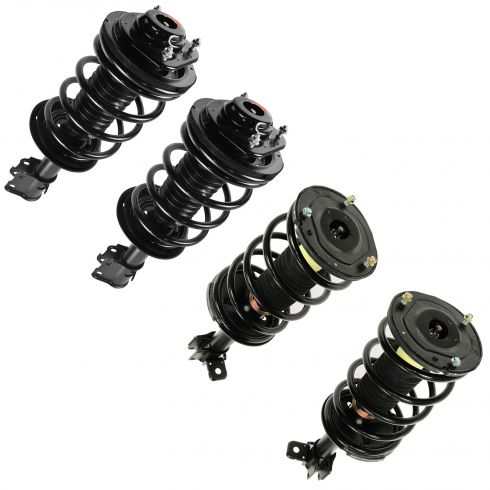 00-05 Chrysler Dodge Plymouth Neon Front & Rear Struts & Springs (Set of 4)(exc SRT-4 or ACR Models)