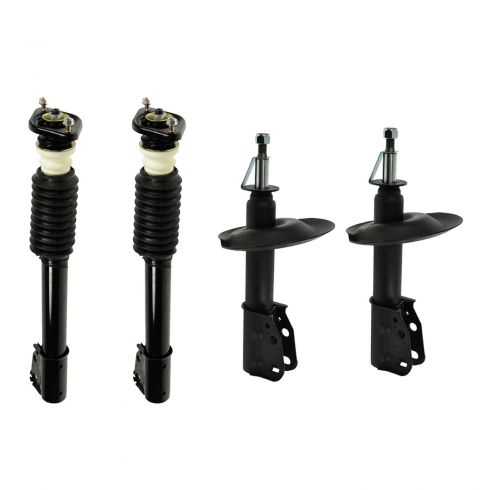85-99 Buick, Cadillac, Olds, Pontiac Multifit Front & Rear Strut/Shock Absorber (Set of 4)