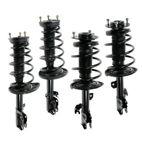 07-11 Toyota Camry, Hybrid; 06-11 Avalon; 07-08 ES350 Front/Rear Strut & Spring Assembly (Set of 4)