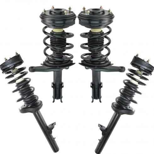 99-04 300M; 98-04 Concorde; 99-01 LHS; 98-04 Intrepid Front & Rear Strut & Spring Asy Kit (Set of 4)