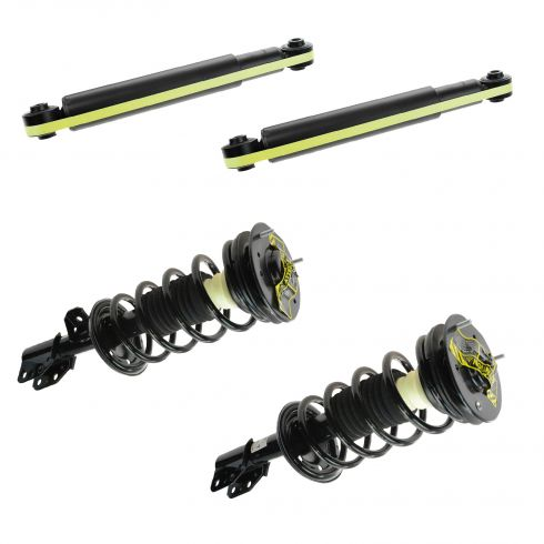 02-07 Saturn Vue Front Strut Assembly & Rear Shock Kit (Set of 4)