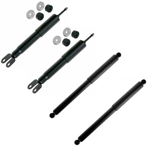 99-07 Chevy, GMC Full Size PU, SUV w/4wd (w/o Elec Susp) Front & Rear Shock Absorber Kit (Set of 4)