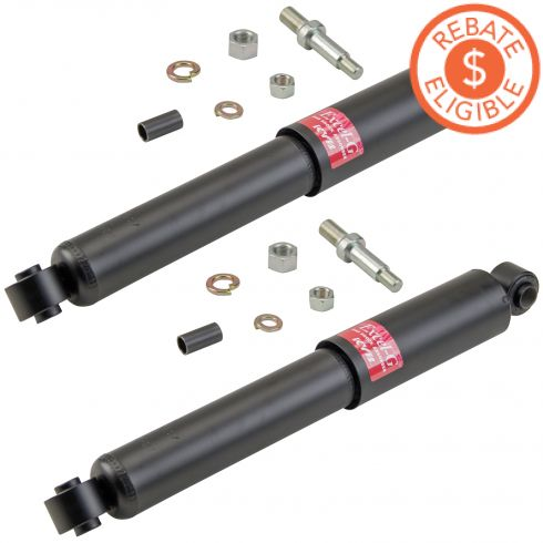 63-91 Chevy GMC Pickup Van SUV 2WD Front Shock Absorbr Pair Excel-G (KYB)