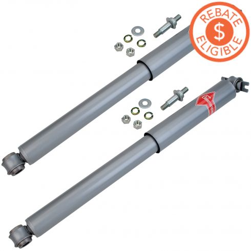 58-96 Multifit Rear Shock Pair Gas-a-Just (KYB)