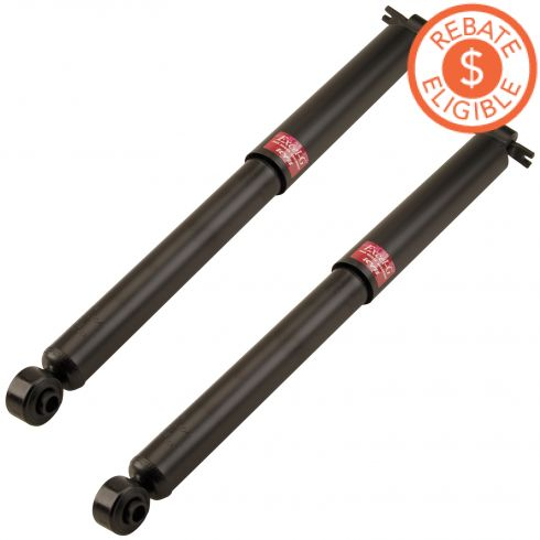 82-05 Chevy GMC Olds Midsize SUV Pickup Rear Shock Pair Excel-G (KYB)