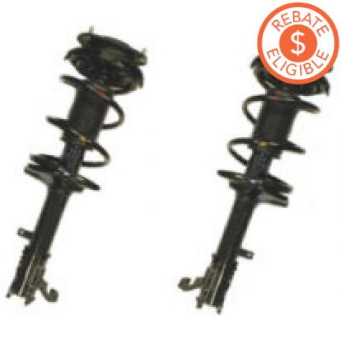 1998-02 Toyota Corolla Front Spring Strut Assy Pair