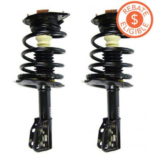 1991-96 Buick Electra Park Ave (exc Wagon) FRONT Strut PAIR (Monroe Quick Struts)