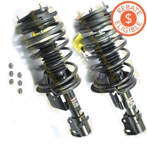 89-94 Chrysler LeBaron (exc Elect Susp) FRONT Strut PAIR (Monroe Quick Struts)
