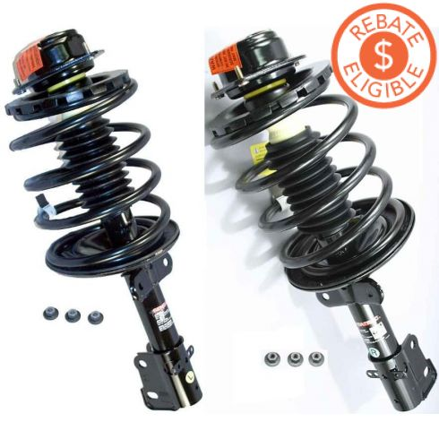 1996-00 Chrysler Mini Van Front (Monroe Quick Strut) PAIR