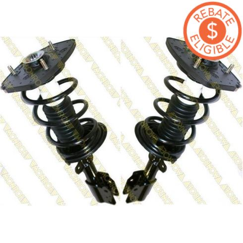"2000-09 Chevy Impala (Police & Taxi - exc 18"" wheels) Rear (Monroe Quick Strut) PAIR"