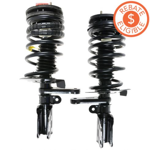 92-95 GM Mid Size FWD (exc Elect Susp) Front Strut Assembly  (Monroe Quick Strut) PAIR