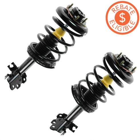 00-01 Nissan Maxima, Infiniti I30 (exc elect Susp) Front Strut & Spring PAIR (Monroe Quick Strut)
