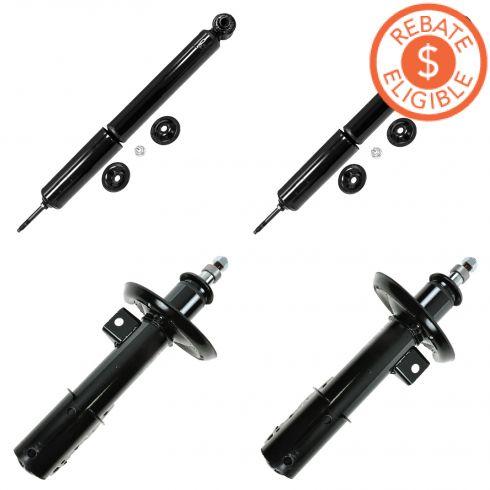 04-12 Malibu; 05-10 G6; 07-09 Aura Front & Rear Strut/Shock Kit (Monroe Sensa-Trac)