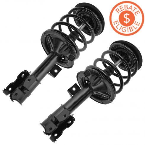 02-06 Nissan Altima w/2.5L Front Strut Assembly PAIR (Monroe Quick Strut)