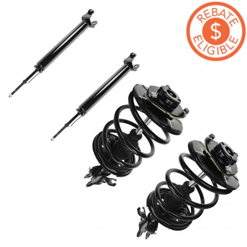 02-06 Nissan Altima w/3.5L Front Quick Strut and Rear Shock Set of 4  (Monroe)