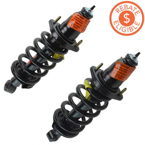 03-11 Honda Element Rear Strut and Spring Assembly PAIR (Monroe Quick Strut)