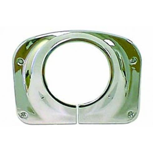 Steering Column Cover, Chrome, 76-86 Jeep CJ Models