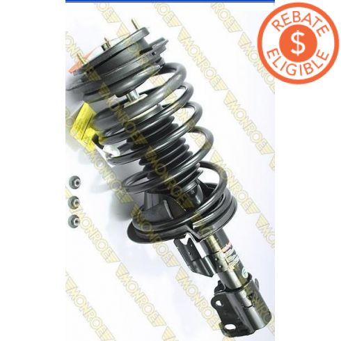 1989-94 Chrysler LeBaron Sedan Loaded Strut (exc Elect Susp) RF