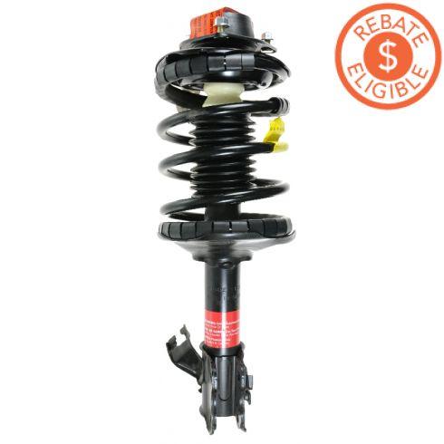 93-01 Nissan Altima Front Strut Assembly LF (Monroe Quick Strut)