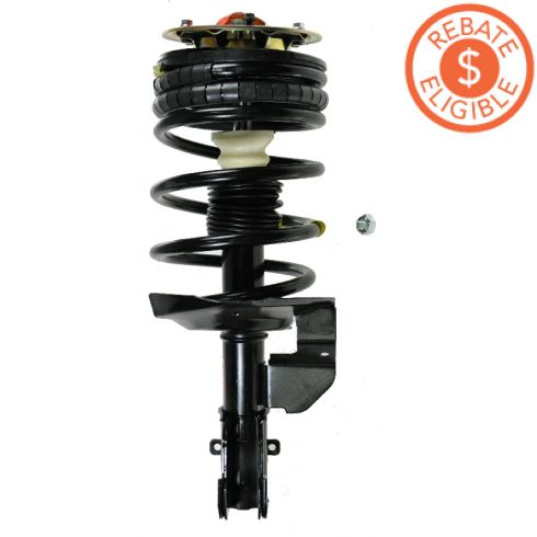 90-96 GM Mini Van FWD (exc Air Susp) Front Strut Assembly LF = RF (Monroe Quick Strut)