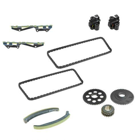 01-02 Ford PU, SUV; 01-07 Van; 00-02 Passenger Car Multifit w/4.6L Full Timing Chain Set w/Sprockets