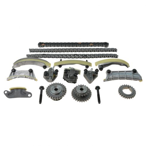 04-08 Buick Cadillac Saturn Multifit V6 2.8L, 3.6L Timing Chain & Component Kit