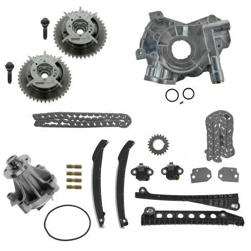 05-10 F150-F350SD; 05-13 Exptn, Navgtr; 06-08 LT w/5.4L Tmng Chain Set (w/ Sprkts Oil, & Water Pump)