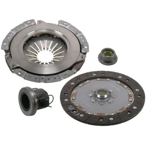 2003-04 Jeep Wrangler L4 2.4L Exedy Clutch Kit