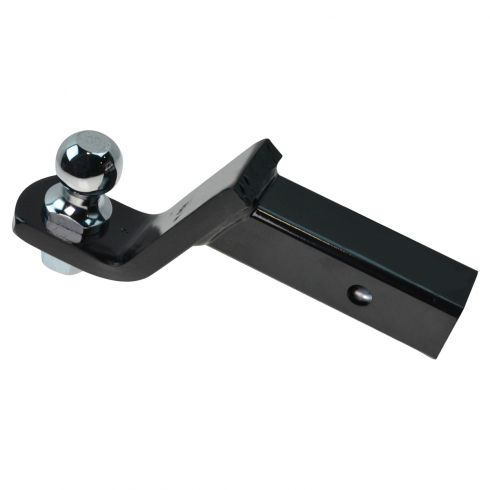 Loaded Tow Ball Mount 4 In Drop W/ 1 7/8 In Ball for 2 In Hitch (Curt)