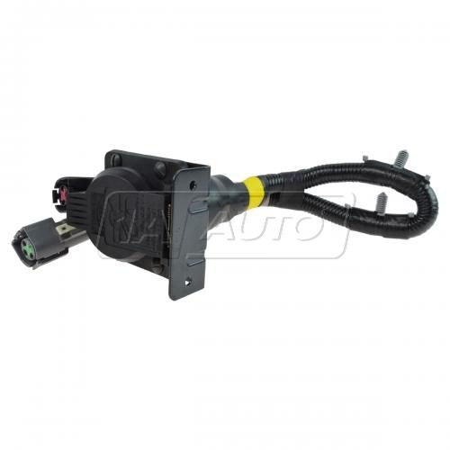 96 Ford F150, Bronco; 96-97 F250, F350 Trailer Tow 7 Pin Plug w/Mtg Bracket & Wiring Harness (Ford)