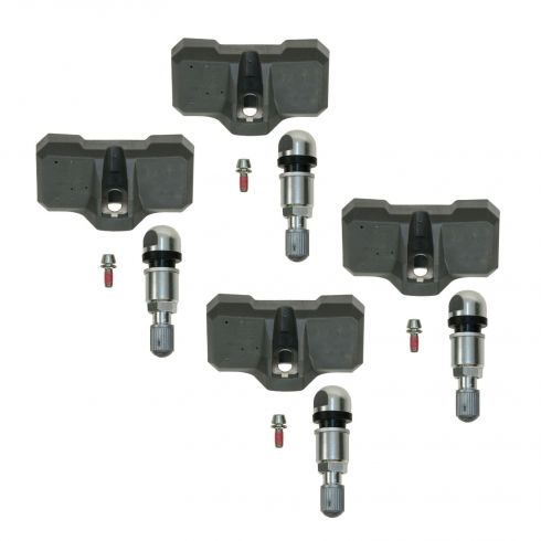 Tire Pressure Monitor Sensor Assembly (Set of 4)