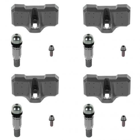 07-08 Hyundai Santa Fe, Veracruz; 06-08 Kia Sedona; 08-06 Tire Pressure Monitor Sensor Kit(Set of 4)