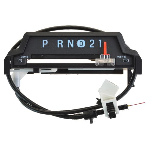 97-98 Ford F150, F-250; 98 Navigator PRND21 Transmission Position Shift Indicator w/Cable Assy (FD)