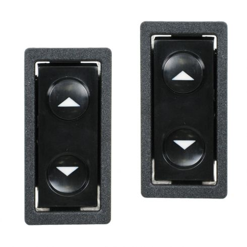 88-89 C/K TruckPwr Window Switch Pair
