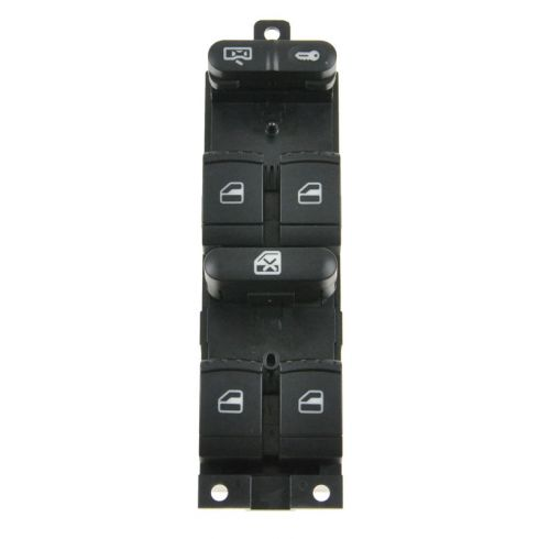 99-06 VW Golf; 99-05 Jetta; 98-01 Passat 4DR Master Power Window Switch LF