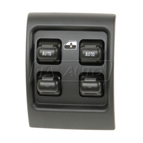 01-04 Chrysler PT Cruiser; 05 PT Cruiser SW Black Master Power Window Switch (Console Mtd)