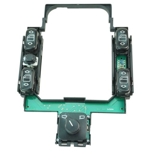 96-97 Mercedes Benz E300, E320, E420 Master Pwr Window & Mirror Switch