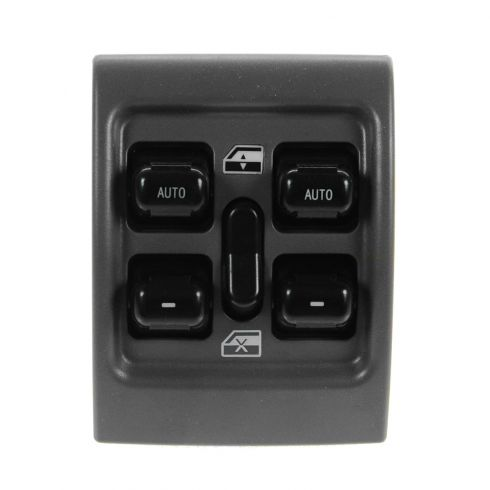 01-05 Chrysler PT Cruiser 5 Button Gray Master Power Window Switch (Center Console Mounted)