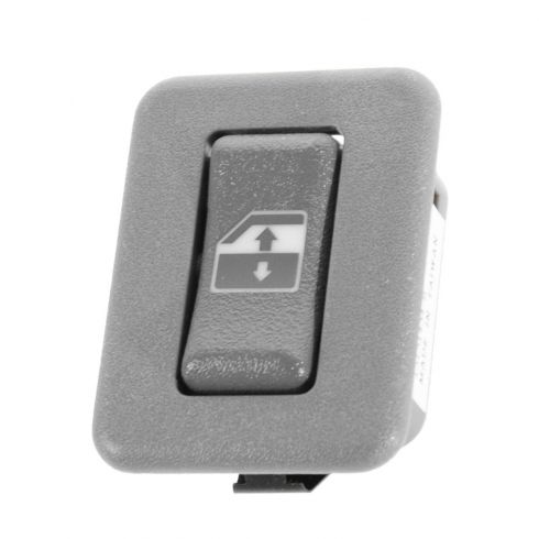 95-98 GM C/K PU; 95-99 FS SUV; 95-05 Mid Size PU, SUV Dk Gray Rear Door Window Switch LR = RR