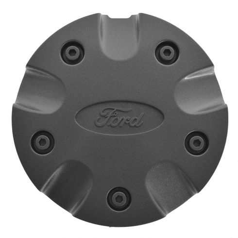 00-04 Ford Focus (w/15 Inch Aluminum Wheels) Sparkle Silver Center Cap w/Ford Emblem (FORD)