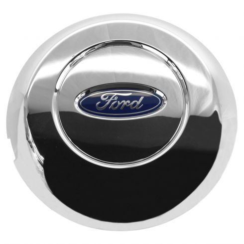 05-08 Ford F150 (w/17 Inch Chrome Steel Wheel) ~Ford~ Logoed Chrome Center Cap (Ford)