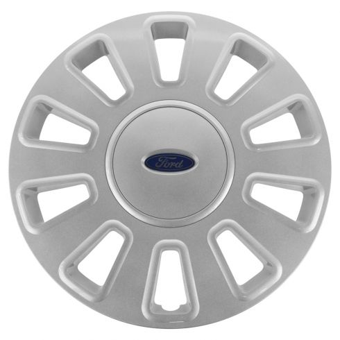 06-11 Ford Crown Victoria (w/17 Inch Wheel) Painted 10 Spoke Wheel Cover Hub Cap (Ford)